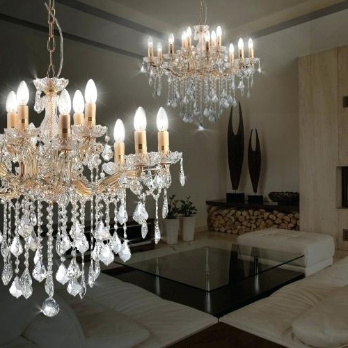 Florian Crystal Chandeliers In Trendy Florian Crystal Chandelier Full Image For Restoration Hardware (View 9 of 10)