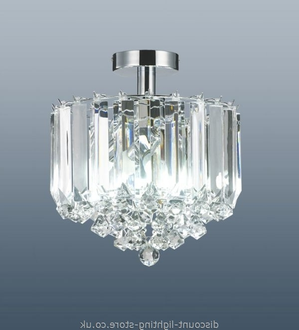 Flush Fitting Chandeliers In Popular Discount Ceiling Lights Rated Life Using Electronic Low Voltage (View 9 of 10)