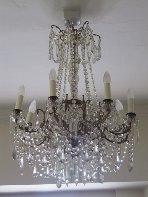 French Antique Chandeliers Pertaining To 2017 Antiques Atlas – A French Chandelier (View 6 of 10)