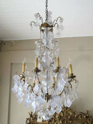 French Antique Chandeliers Pertaining To Latest Antique Chandeliers Sale French Antique Chandelier Antique Crystal (View 3 of 10)