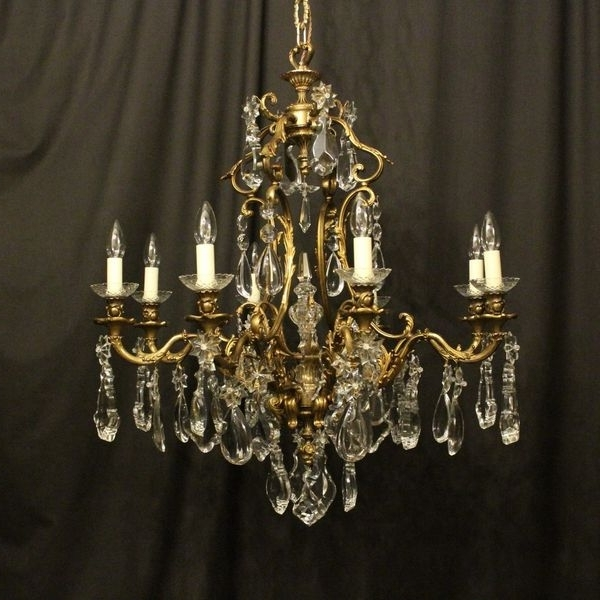 French Chandeliers Pertaining To Recent Antique French Chandeliers – The Uk's Premier Antiques Portal (View 6 of 10)