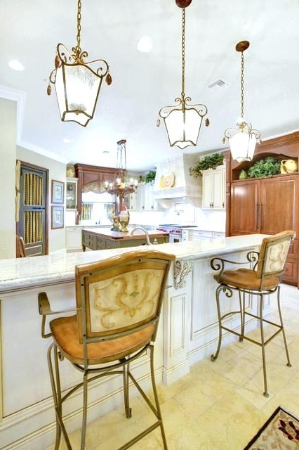 French Country Chandeliers For Kitchen Inside Fashionable French Country Lighting For Kitchen French Country Kitchen Ideas (View 7 of 10)