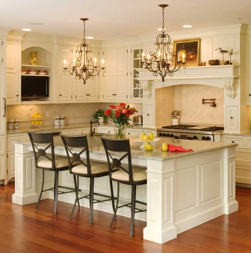 French Country Chandeliers For Kitchen Within Well Liked Incredible French Country Island Lighting Lighting French Country (View 10 of 10)