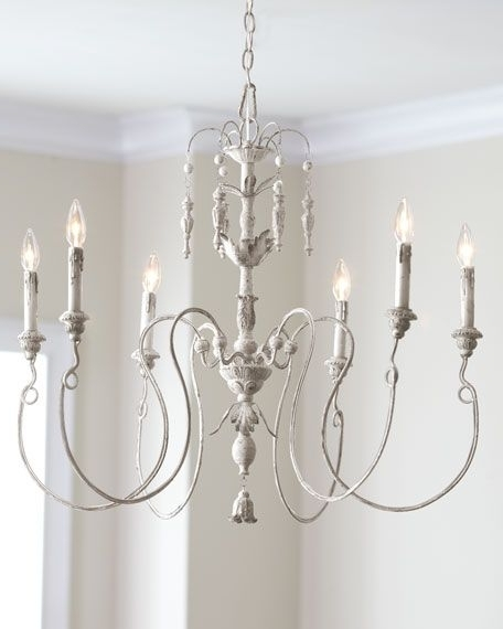 French Country Chandeliers Throughout Popular Salento 6 Light Chandelier (View 5 of 10)
