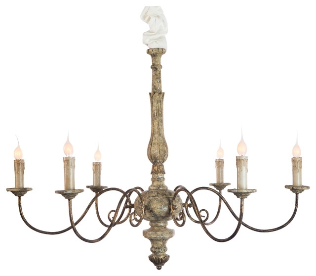 French Country Chandeliers With Latest Contemporary French Country Chandelier Intended For Brilliant (View 6 of 10)