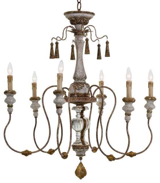 French Country Chandeliers (View 9 of 10)