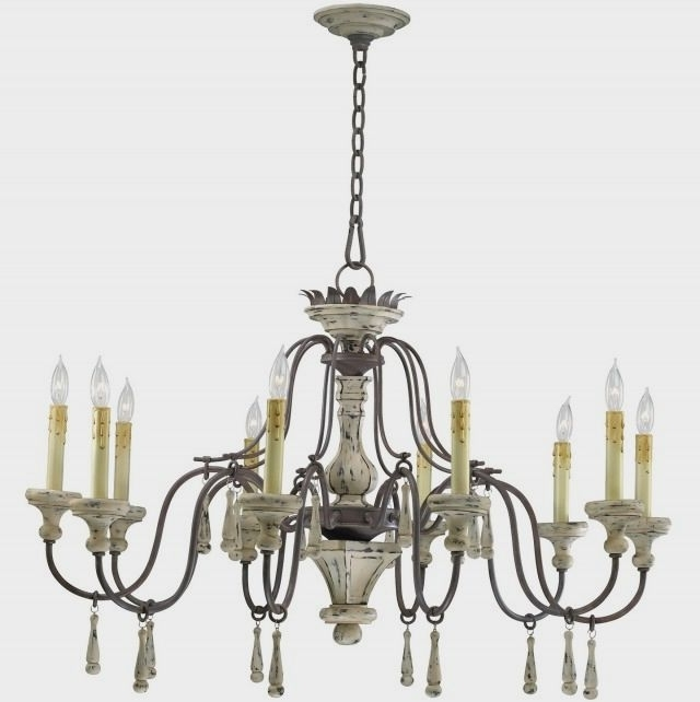French Style Chandeliers Within Preferred Country French Style Chandeliers : Fascinating Ideas For Shabby Chic (View 9 of 10)