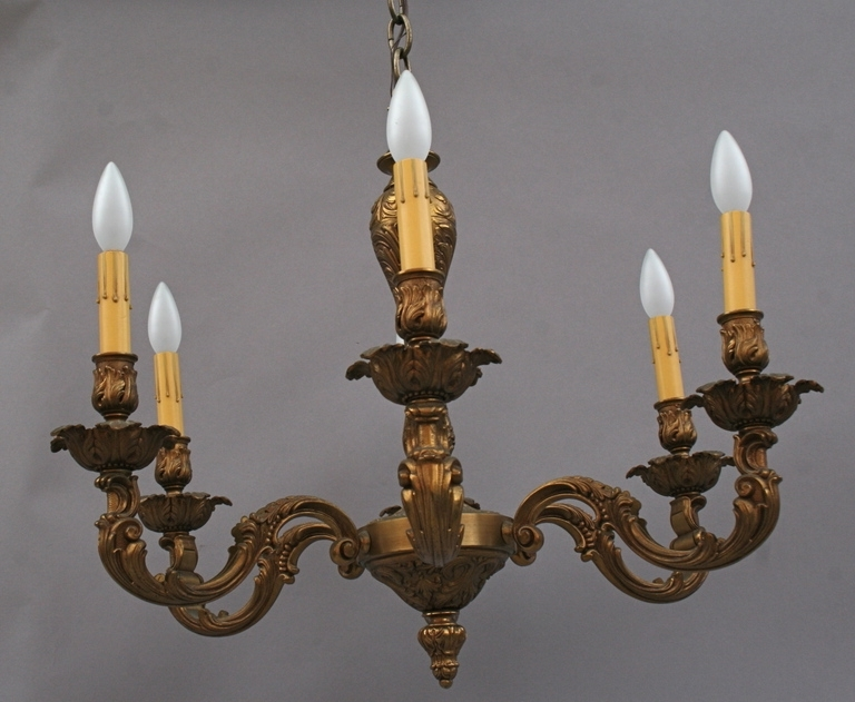 From A Unique Collection Of Intended For Old Brass Chandeliers (View 2 of 10)