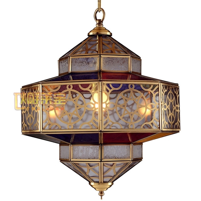 Full Copper Lamps Copper Lamps Bedroom Moroccan Chandeliers Arab Within Fashionable Asian Chandeliers (View 8 of 10)