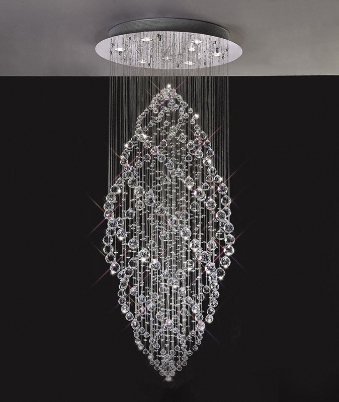 Gabor Floating Crystal Pendant Chandelier Within Fashionable Sparkly Chandeliers (Gallery 1 of 10)