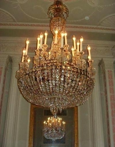 Georgian Chandeliers For Preferred Georgian Chandeliers Georg Chndelier Jmess Tht Clened Nnully Sce (View 1 of 10)