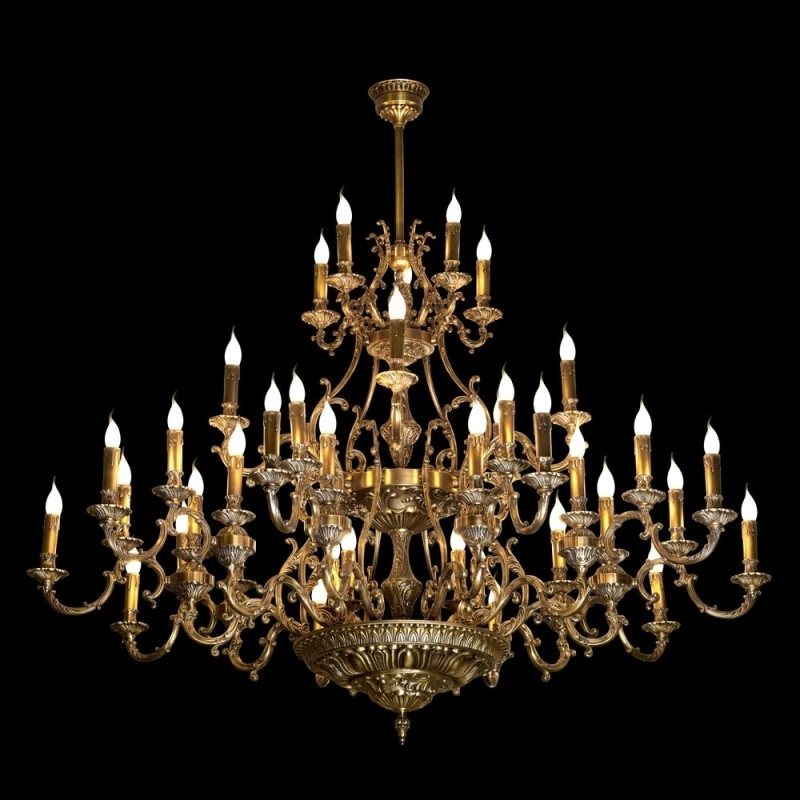 Giant Chandeliers Pertaining To Popular High End Chandeliers And Unique Crystal Chandeliers (Gallery 7 of 10)