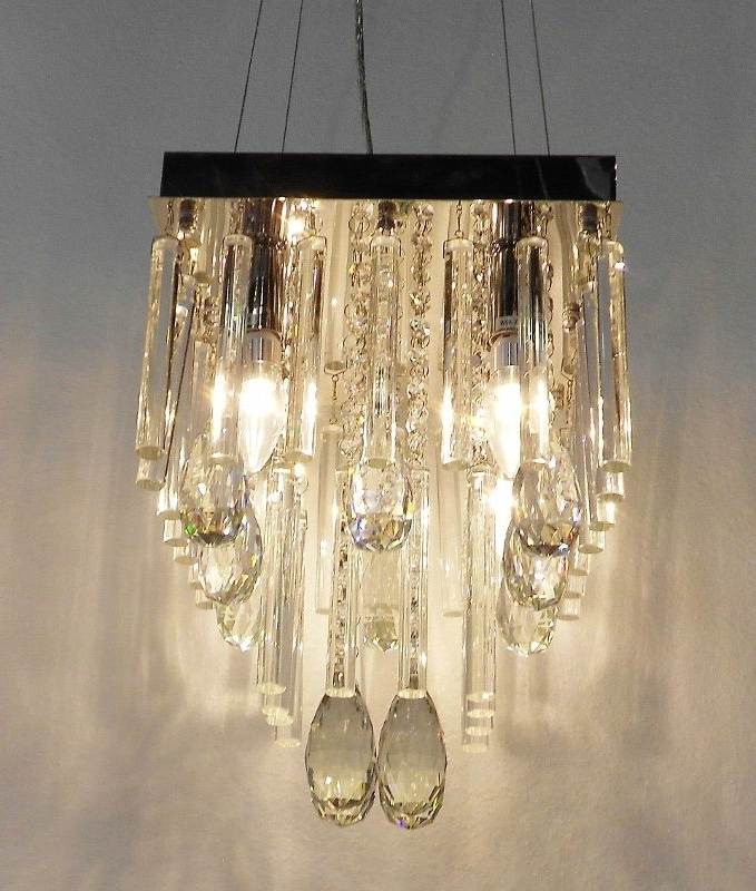 Glass Crystal With Most Popular Lead Crystal Chandeliers (Gallery 10 of 10)