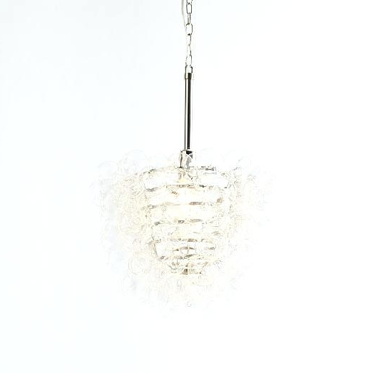 Glass Droplet Chandelier Within Widely Used Glass Droplet Chandelier Glass Drop Chandelier Crystal Glass Drop 3 (Gallery 9 of 10)