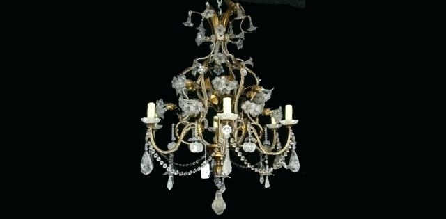 Hallway Crystal Chandelier – Pianotastings In Latest Lead Crystal Chandelier (View 9 of 10)