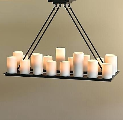 Hanging Candle Chandelier – Neutralduo In Trendy Hanging Candelabra Chandeliers (Gallery 4 of 10)