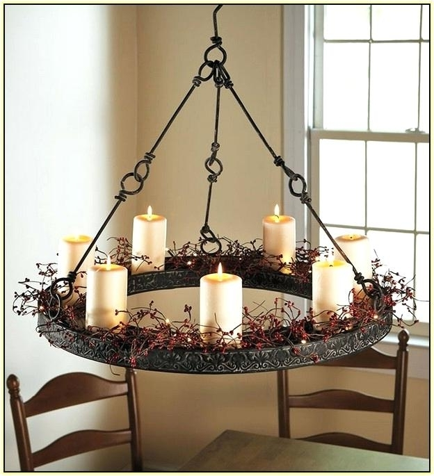 Hanging Candle Chandeliers For Newest Hanging Candle Chandeliers Hanging Candle Chandelier Home Design (Gallery 3 of 10)