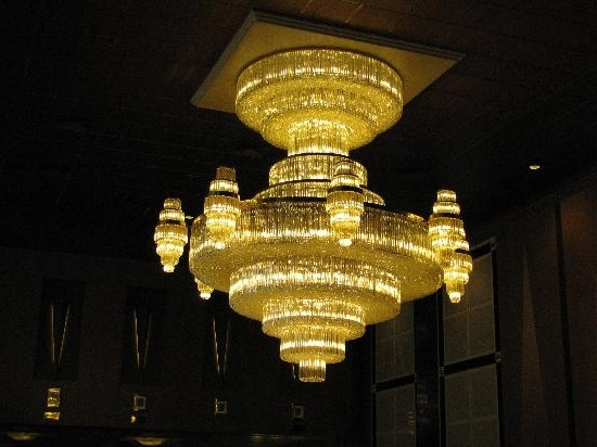 Hotel Chandelier In Current Hotel Chandelier – Picture Of Divani Caravel Hotel, Athens – Tripadvisor (View 1 of 10)