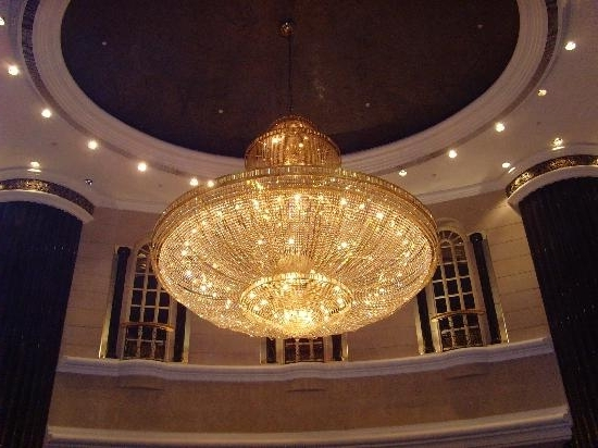 Hotel Chandelier Pertaining To Famous Chandelier In The Foyer – Picture Of Renaissance Kuala Lumpur Hotel (View 3 of 10)