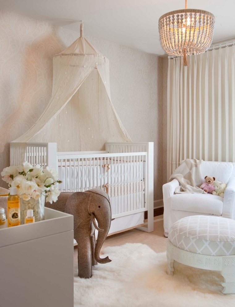 House : Wonderful Ba Nursery Decor Hanging Sample Chandeliers For In Well Liked Chandeliers For Girl Nursery (Gallery 6 of 10)