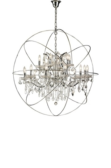 Household Bliss Regarding Famous Orb Chandeliers (Gallery 5 of 10)