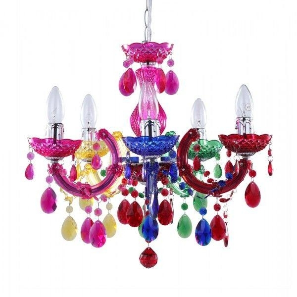 Featured Photo of Colourful Chandeliers