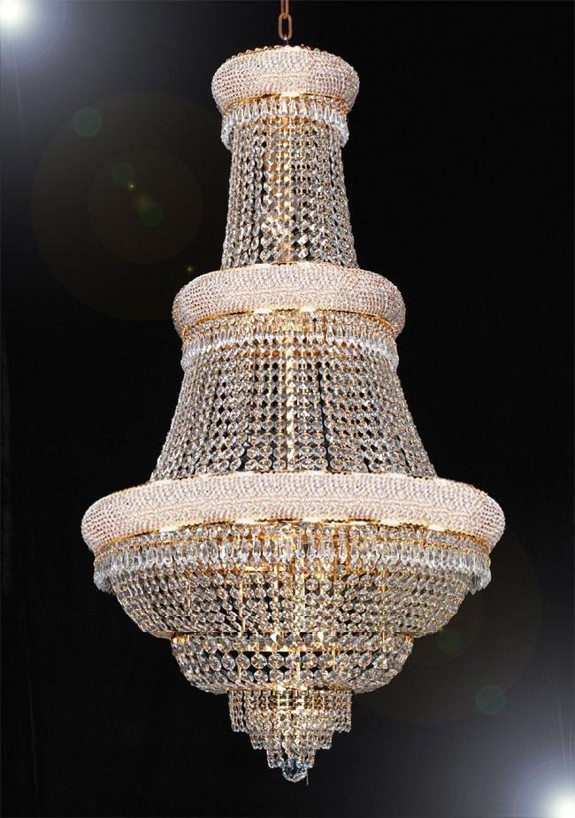 Huge Chandeliers Intended For 2018 Huge Crystal Chandeliers – Chandelier Designs (Gallery 5 of 10)