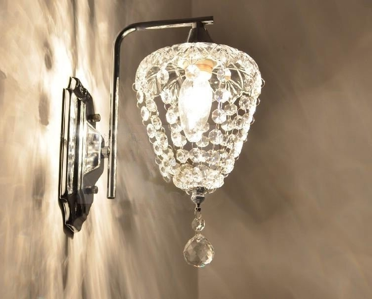 Iron Wall, Wall Sconces And Wall Mount With Most Recently Released Wall Mounted Chandelier Lighting (Gallery 10 of 10)
