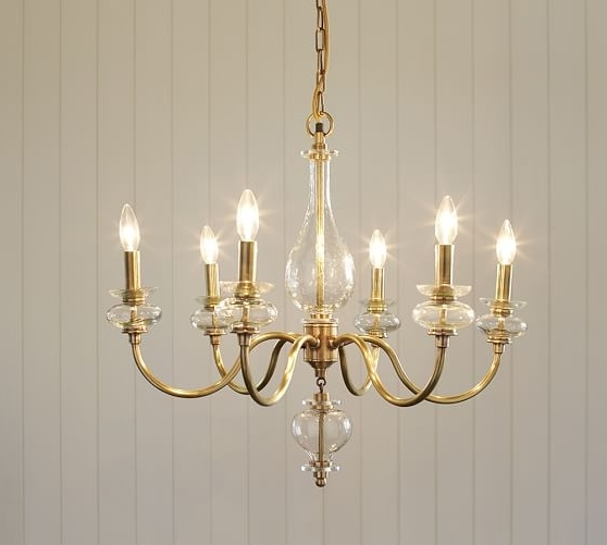 Jasmine Glass Chandelier (View 7 of 10)