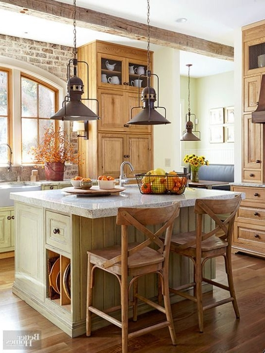 Kitchen Ideas Within Small Rustic Kitchen Chandeliers (View 5 of 10)
