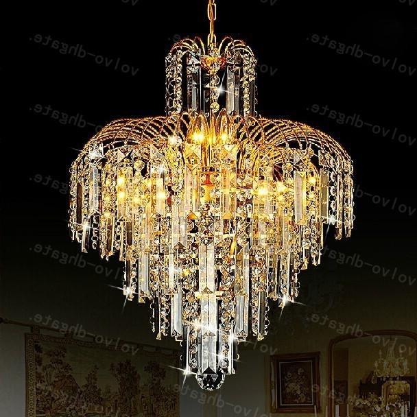 Lalf441 Luxury Restaurant Chandelier Crystal Lamp Living Room Within 2017 Restaurant Chandelier (View 4 of 10)