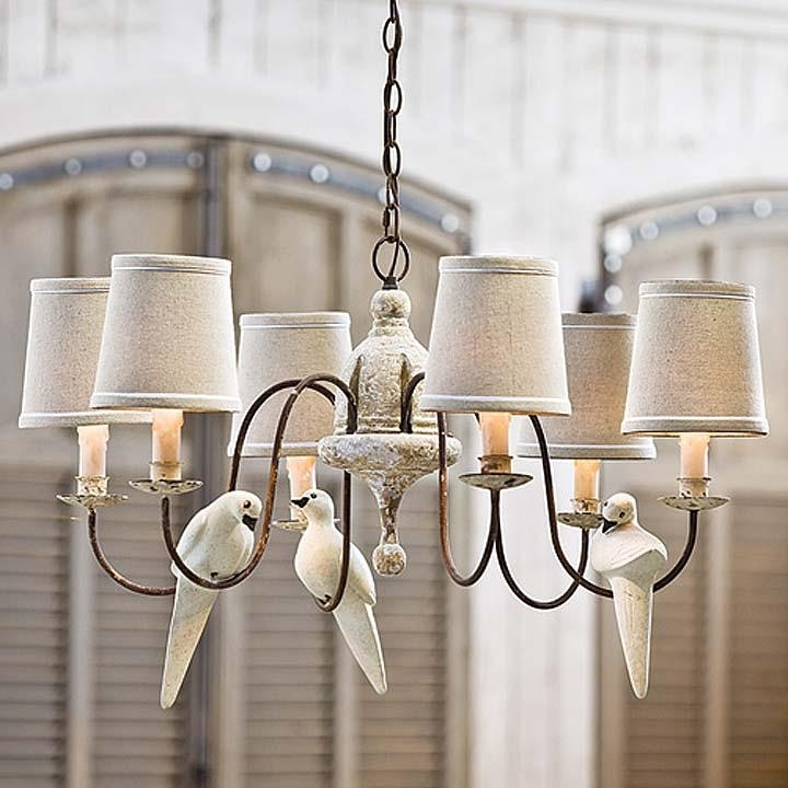 Lamp Chandelier Shabby Chic – Closdurocnoir Pertaining To Famous Small Shabby Chic Chandelier (View 3 of 10)
