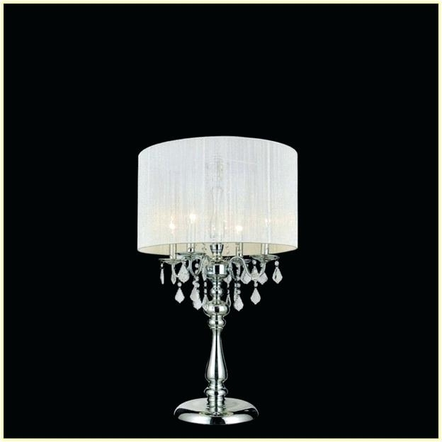 Charming Mini Chandelier Table Lamp #1 - Lamp: Mini Chandelier Table Lamp Chandeliers Green Crystal Base Gold  Intended For Most Popular Mini