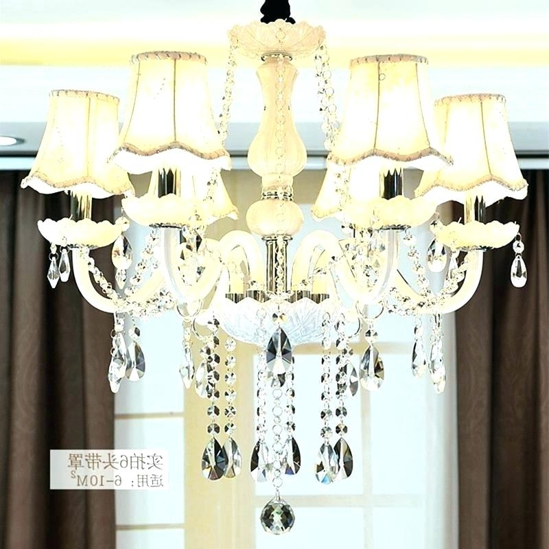 Lampshade Chandeliers Regarding 2018 Holiday Chandelier Shades Chandeliers With Lamp Shade Lamp Shades (View 4 of 10)