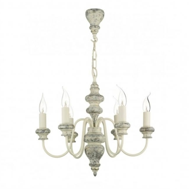 Large Cream Chandelier With Regard To Fashionable Verona Distressed Cream Ceiling Light ( Large Cream Chandelier # (View 4 of 10)