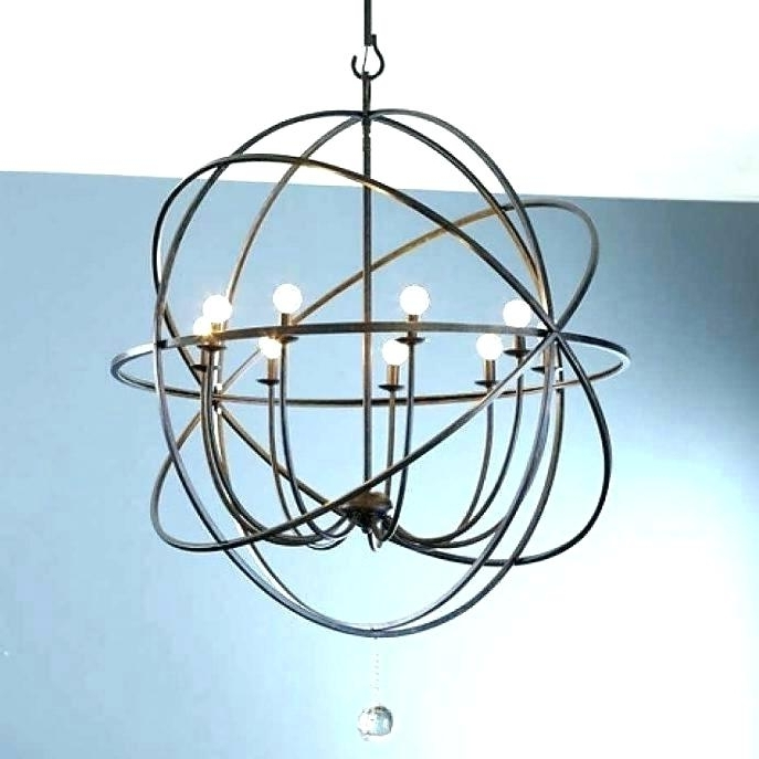 Large Globe Chandelier With Best And Newest Large Globe Chandelier Plus Large Globe Chandelier S Large Globe (View 7 of 10)