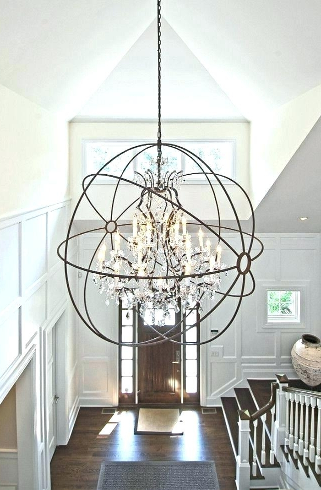 Featured Photo of Large Globe Chandelier
