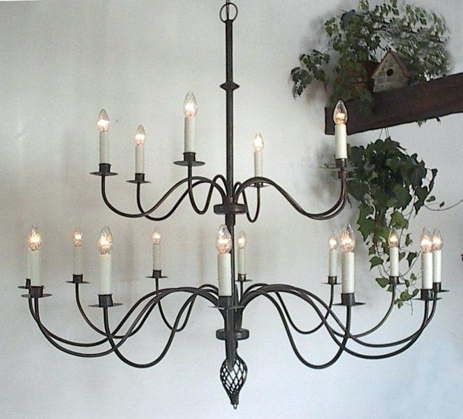 Large Iron Chandelier Large Metal Chandelier Frame – Pinkfolio For Newest Large Iron Chandelier (View 6 of 10)
