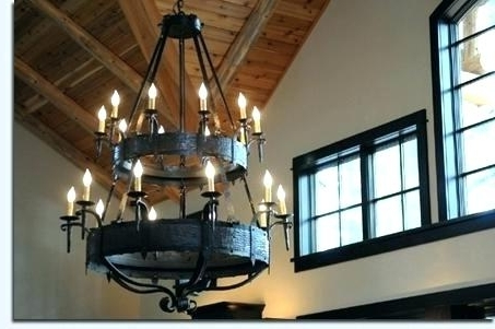 Large Iron Chandelier With Most Recently Released Large Iron Chandelier Large Metal Chandeliers – Pinkfolio (View 8 of 10)