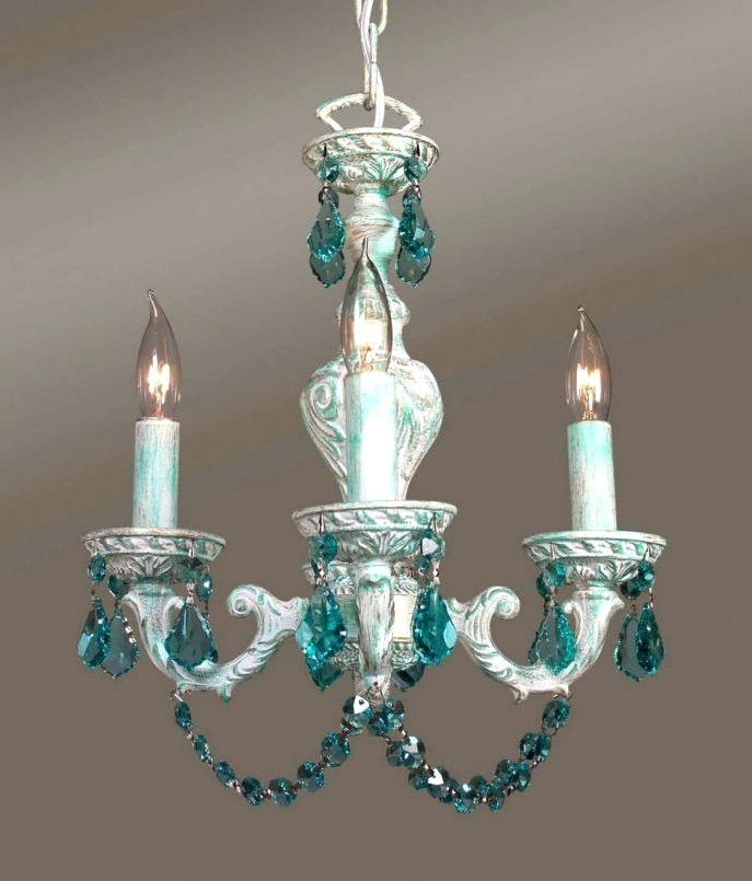 Large Turquoise Chandeliers Within Preferred Chandelier Turquoise Medium Size Of Blue Beaded Chandelier Turquoise (View 7 of 10)