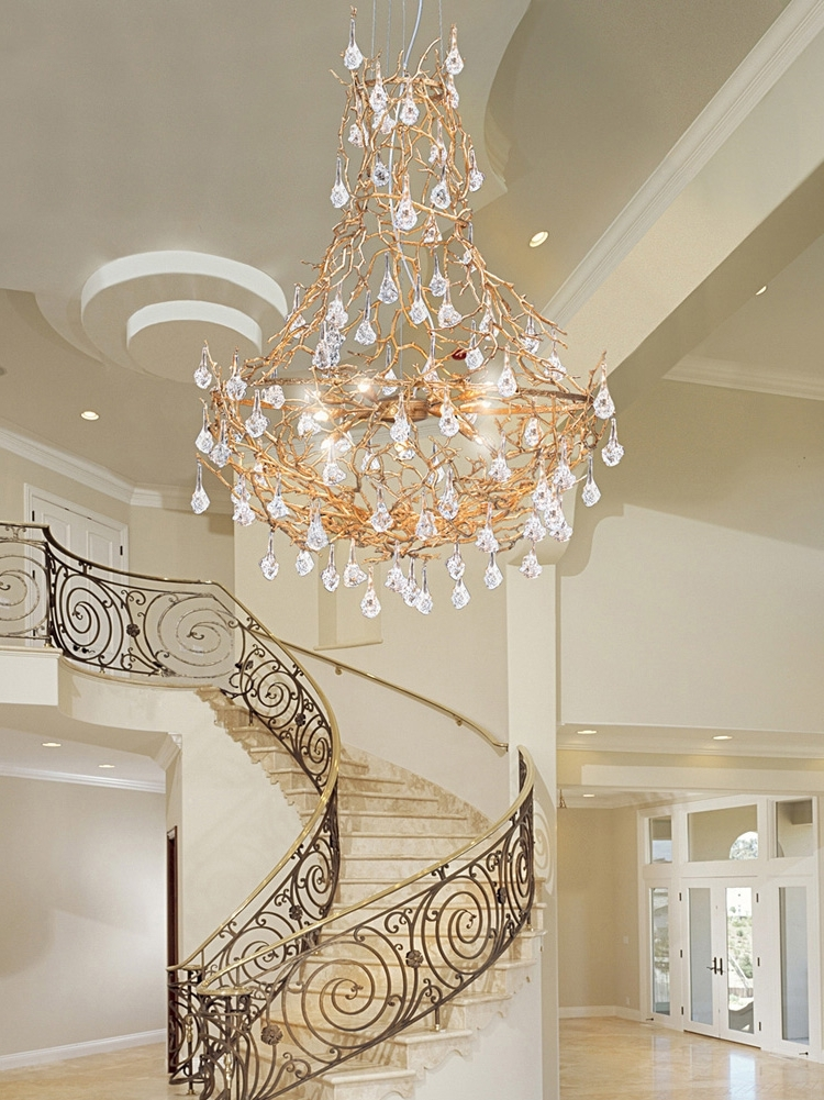 Top 10 of staircase chandeliers latest chandeliers traditional venetian modern contemporary with regard to staircase chandeliers view 4 of 10 aloadofball Image collections