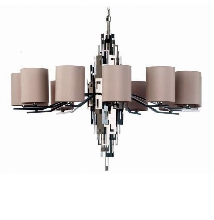 Latest Contemporary Chandeliers – Murano Lighting Within Contemporary Chandelier (View 3 of 10)