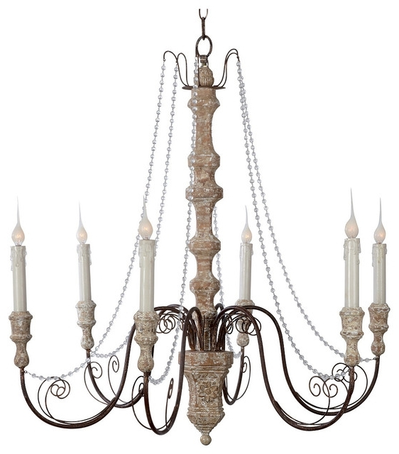 Latest French Country Chandeliers Intended For Chandelier (View 8 of 10)