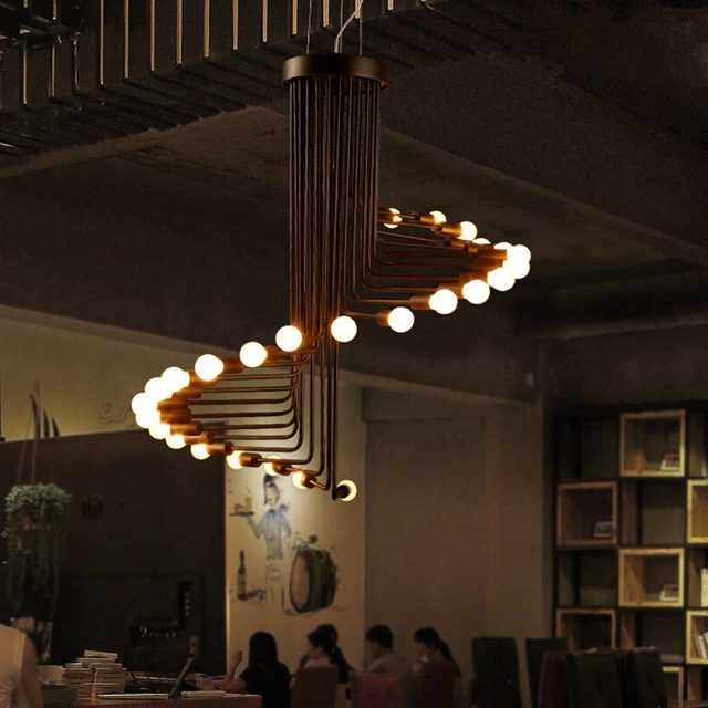 Latest Fumat Loft Retro Chandelier Modern Art Deco Minimalist Living Room Throughout Retro Chandeliers (View 5 of 10)