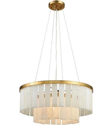 Latest Gold Leaf Chandelier Regarding Dimond Lighting 1142 013 Orchestra 1 Light 20 Inch Gold Leaf (View 4 of 10)