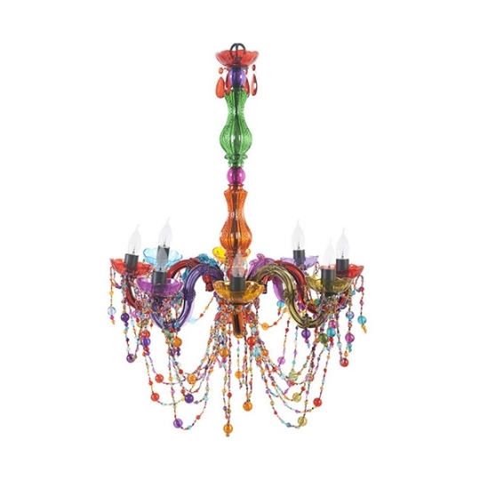 Latest Gypsy Chandelier Multicolored Chandeliers High Fashion Home Eclectic Inside Multi Colored Gypsy Chandeliers (View 4 of 10)