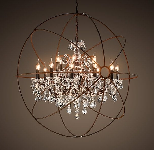 Latest Large Globe Chandelier Regarding The Most Amazing Light Fixture. Ever (View 10 of 10)