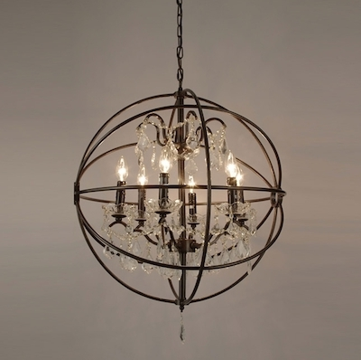 Latest Small Rustic Crystal Chandeliers Inside Rustic Orb Chandelier Good Furniture Small Cheap Chandeliers Mini (View 5 of 10)