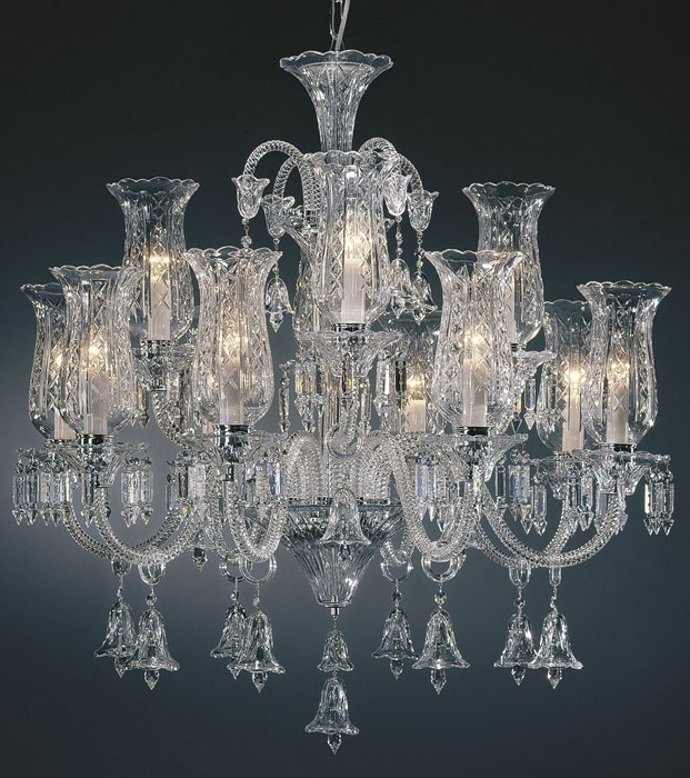 Lead Crystal Chandelier Regarding Most Popular Large Crystal Chandelier And Bohemian Crystal Chandelier (View 4 of 10)