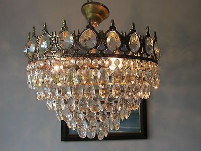 Lead Crystal Chandeliers In 2018  (View 7 of 10)